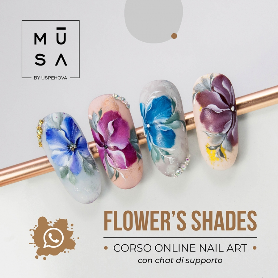 Online Course FLOWER'S SHADES with support chat